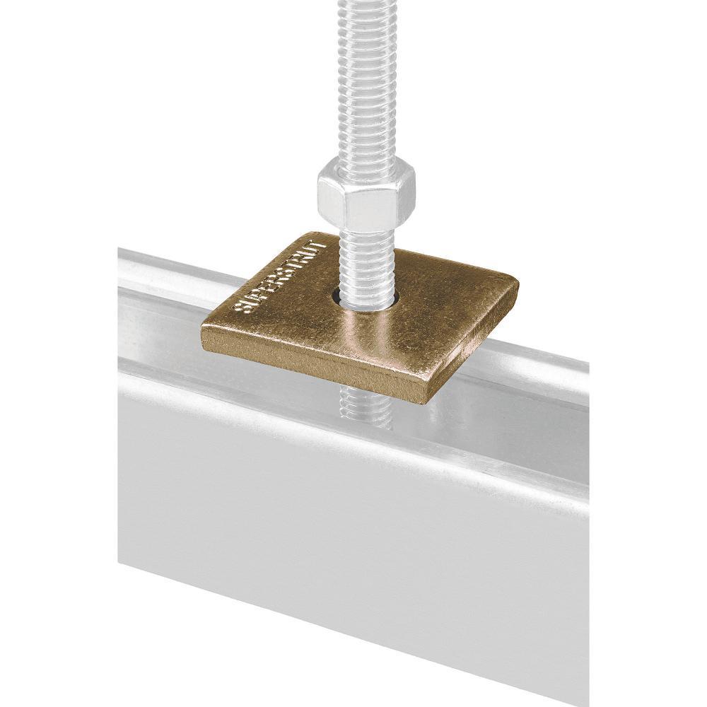 AMPG Z8942-ZN Zinc Square Washer Steel
