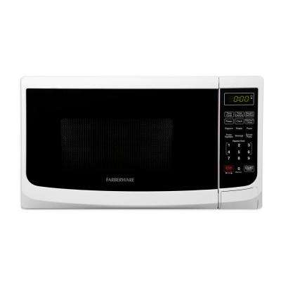 Classic 0.7 cu. ft. 700-Watt Countertop Microwave Oven in White