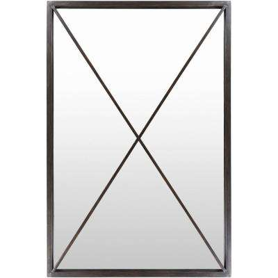 Venera 40 in. x 60 in. Modern Framed Mirror