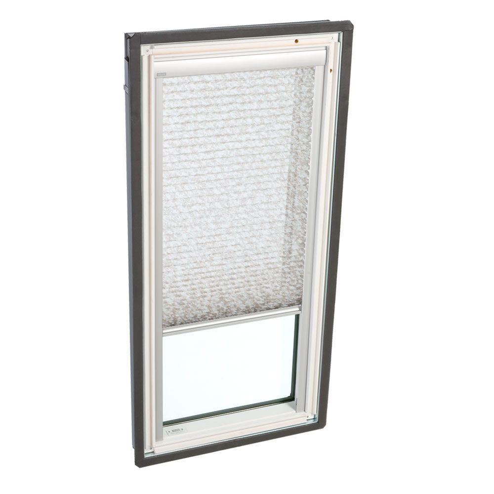 Manual Light Filtering Misty Brown Skylight Blinds for FS C04 Models