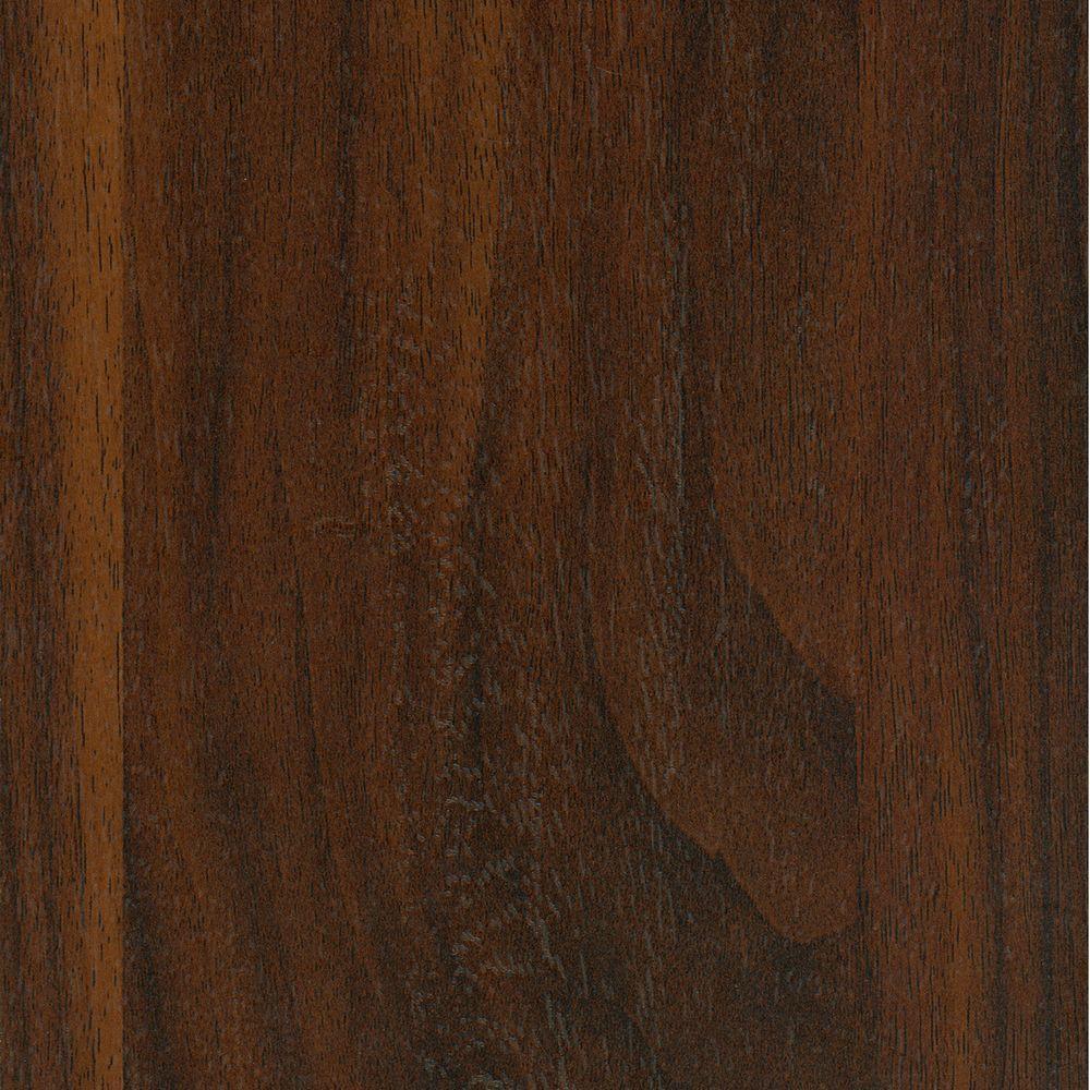 Textured Walnut Morningside Laminate Flooring - 5 in. x 7 in. Take Home Sample