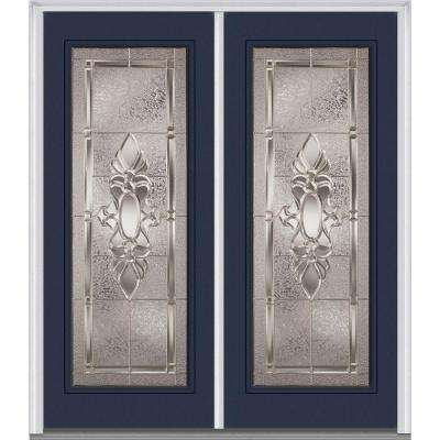 Front doors exterior doors the home depot 72 in x 80 in heirloom master left hand inswing full lite decorative planetlyrics