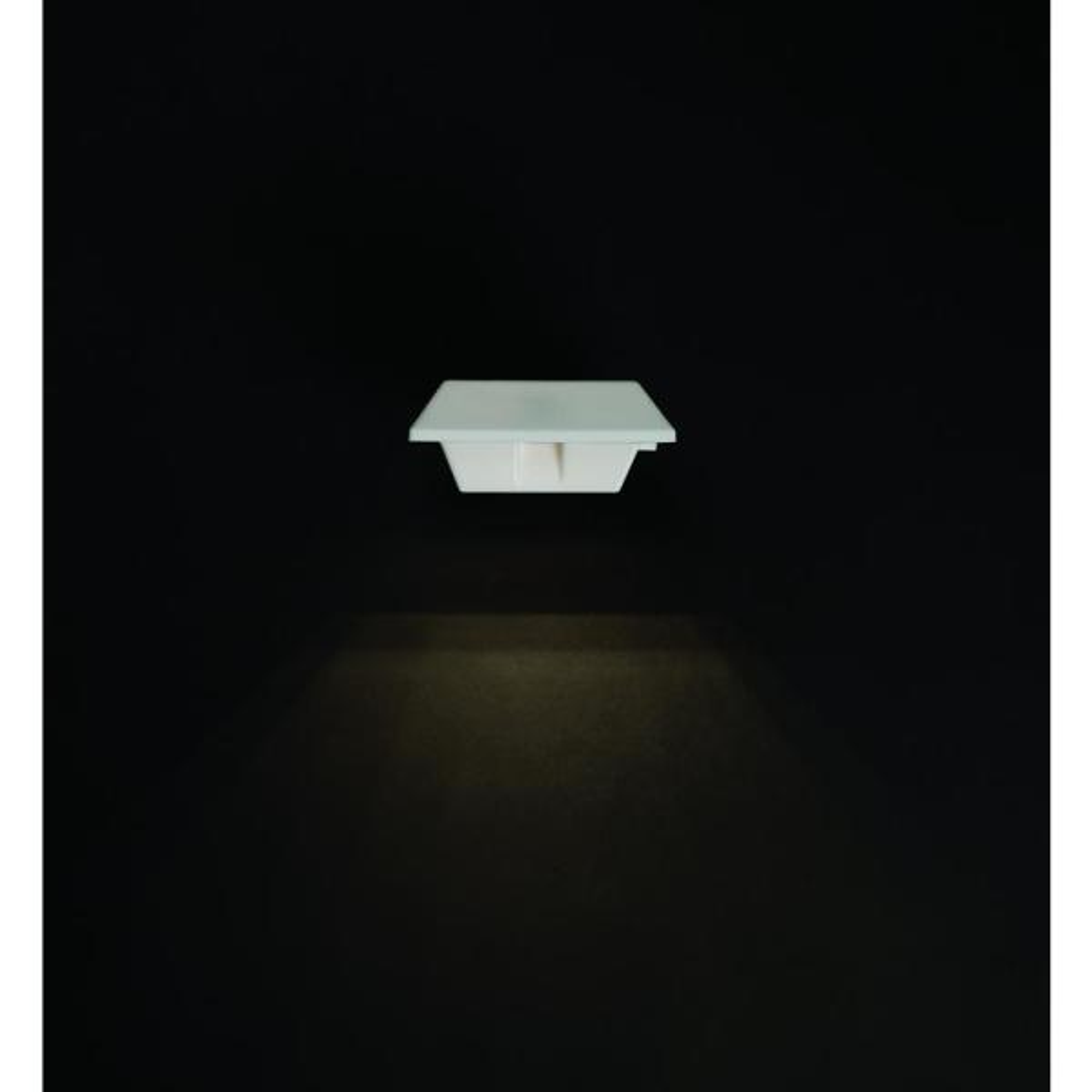 2 PK WHITE LED SOLAR POWER GUTTER DOOR FENCE WALL ROOF LIGHTS OUTDOOR GARDEN NEW