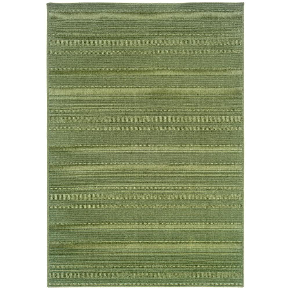 Oriental Weavers Nevis Promenade Green 5 ft. 3 in. x 7 ft. 6 in. Area Rug