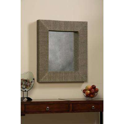 Mendong with Black Thread Rectangle Mirror