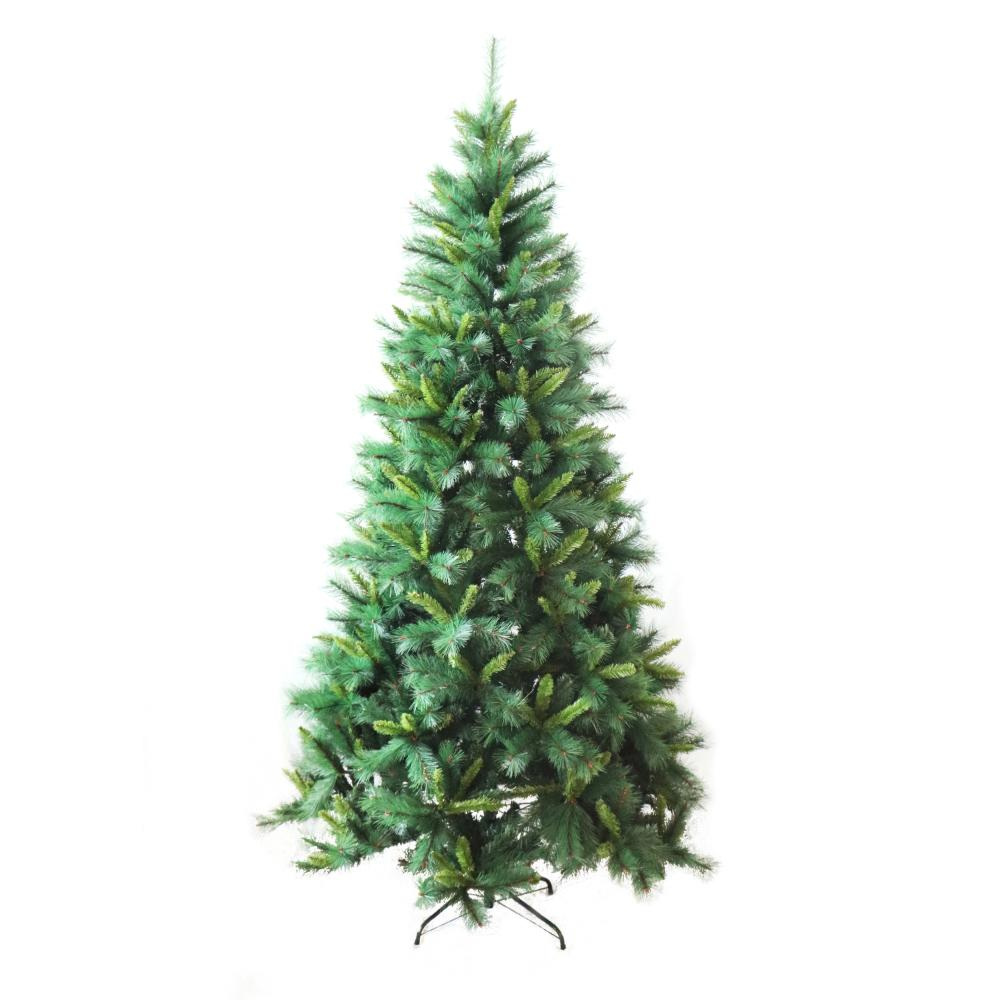 ALEKO 8 ft. Unlit Luscious Artificial Pine Christmas Tree