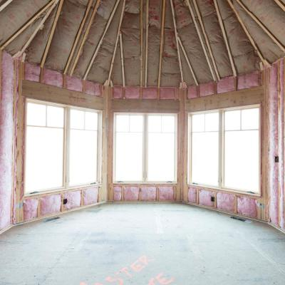 R-30 EcoTouch PINK Cathedral Ceiling Unfaced Fiberglass Insulation Batt 15-1/2 in. x 48 in. (10-Bags)