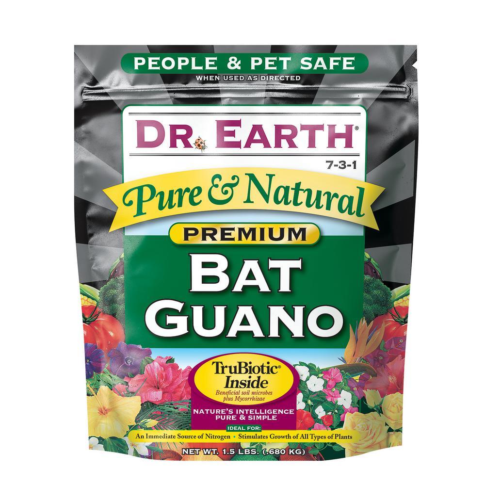 1.5 lb. 7-3-1 Dry Bat Guano