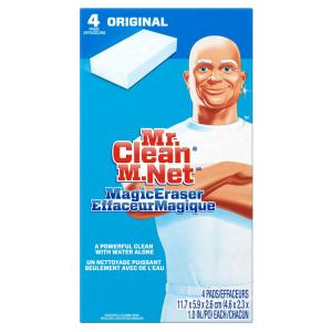 Magic Eraser Multi-Purpose Cleaning Pad (4-Pack)