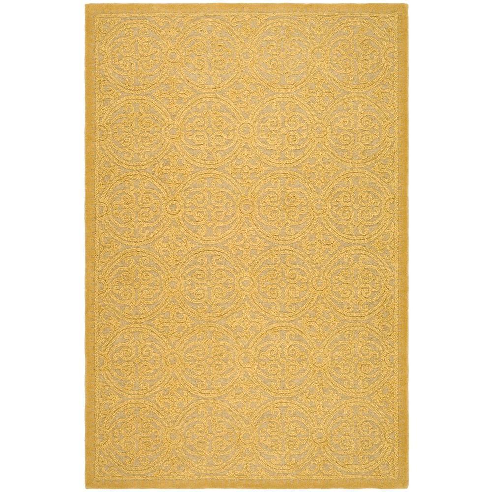 Safavieh Cambridge Light Gold/Dark Gold 5 ft. x 8 ft. Area Rug