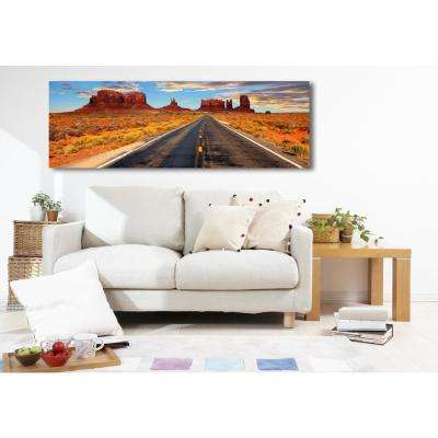 60 in. H x 20 in. W 'SAI - Utah II' by Oliver Gal Framed Canvas Wall Art