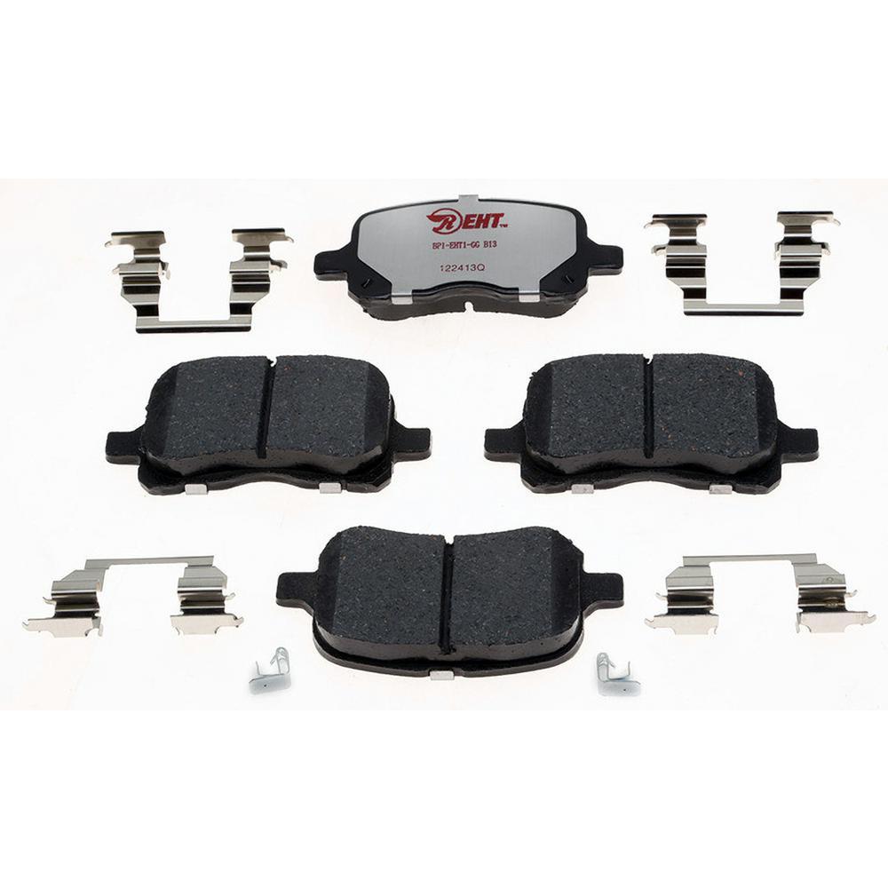 Disc Brake Pad Set-Service Grade; Metallic Front Raybestos SGD215M