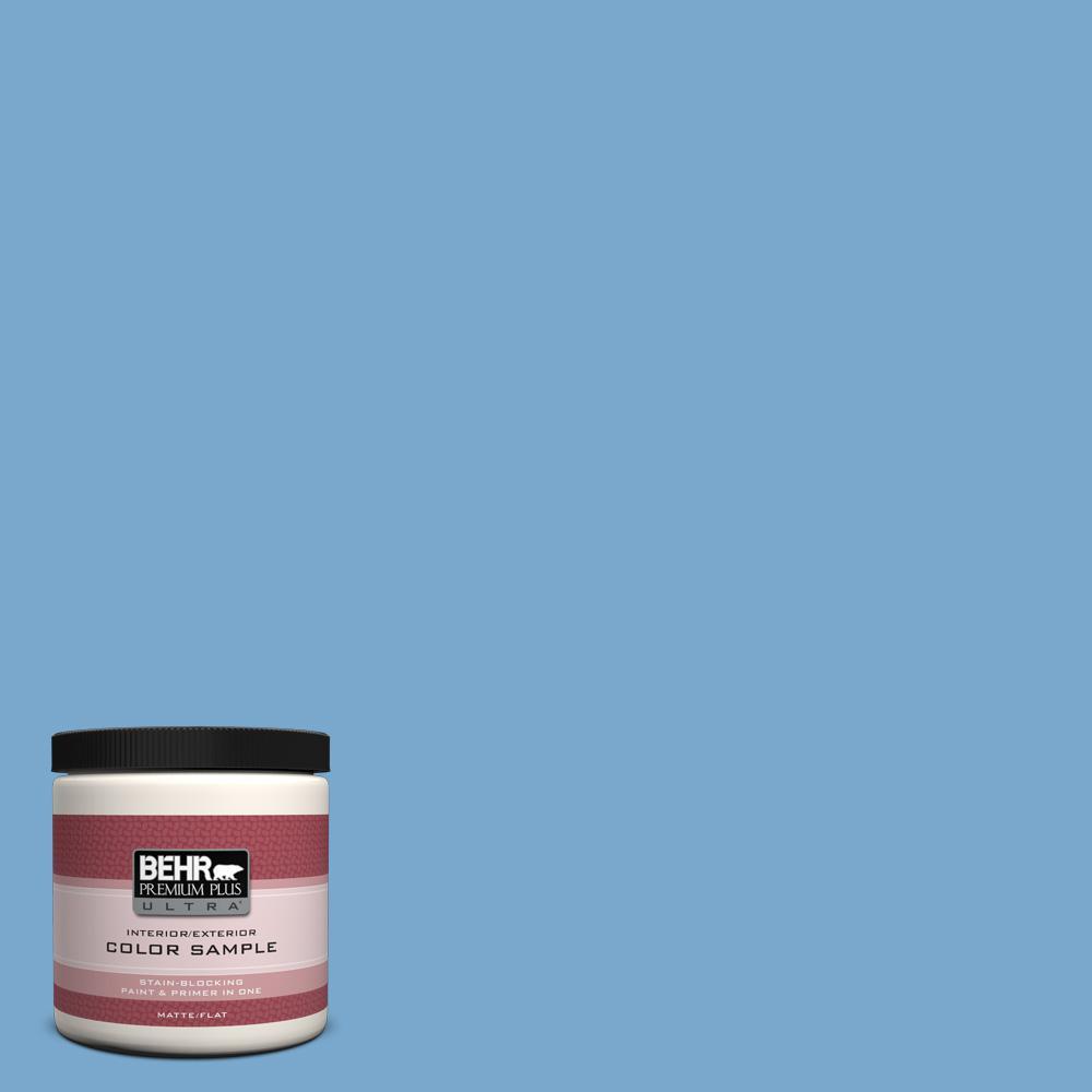 8 oz. #M520-4 Mirror Lake Interior/Exterior Paint Sample