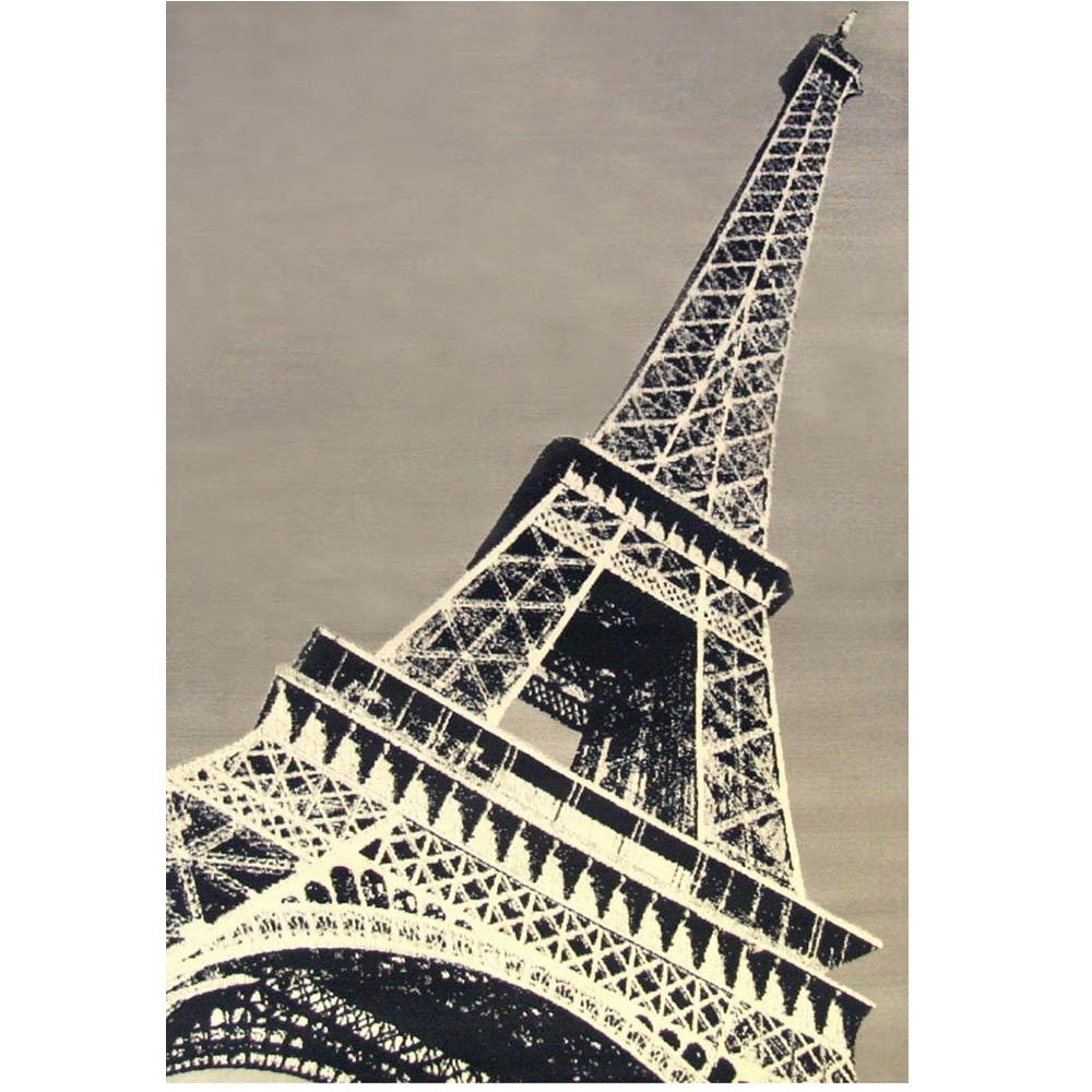 Terra Paris Ivory 4 ft. x 6 ft. Area Rug