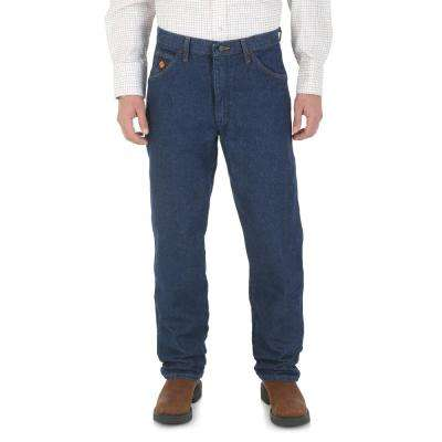 Men's Size 46 in. x 32 in. Prewash Relaxed Fit Jean