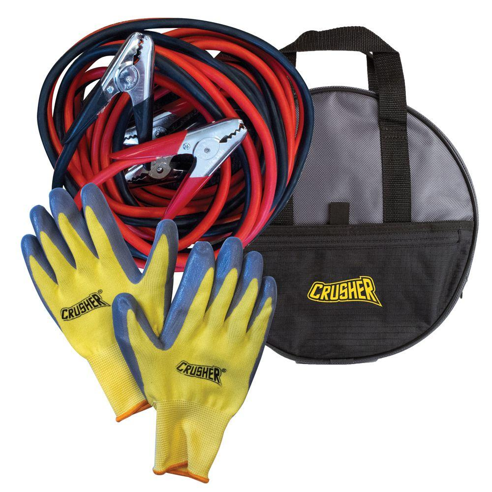 Jumper Cable Bag : Crusher ft industrial commercial grade gauge booster