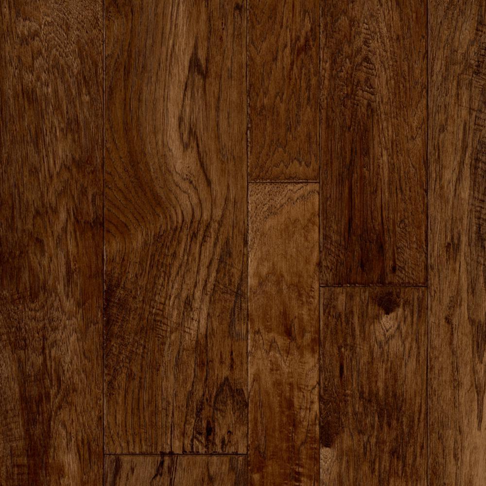 Multi-Width Hickory Plank Dark 13.2 ft. Wide x Your Choice Length Residential Vinyl Sheet Flooring