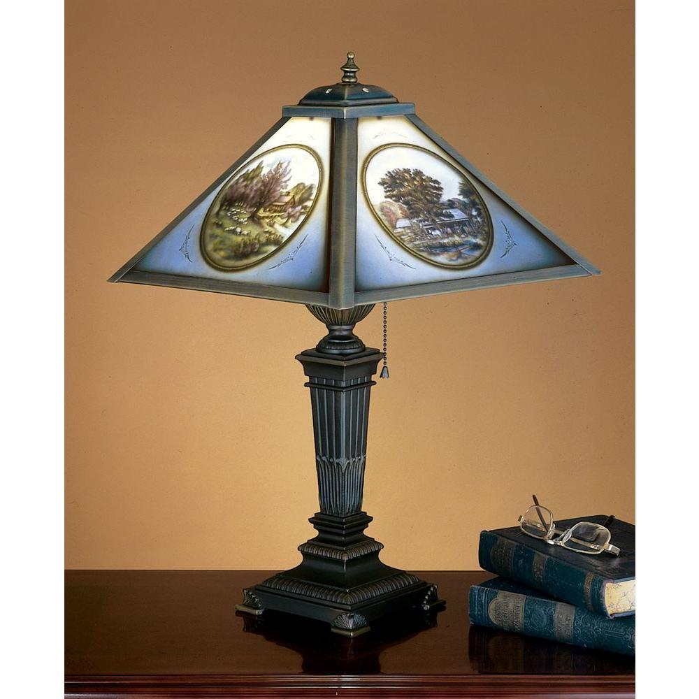 Illumine 1 Light Lithophane Table lamp