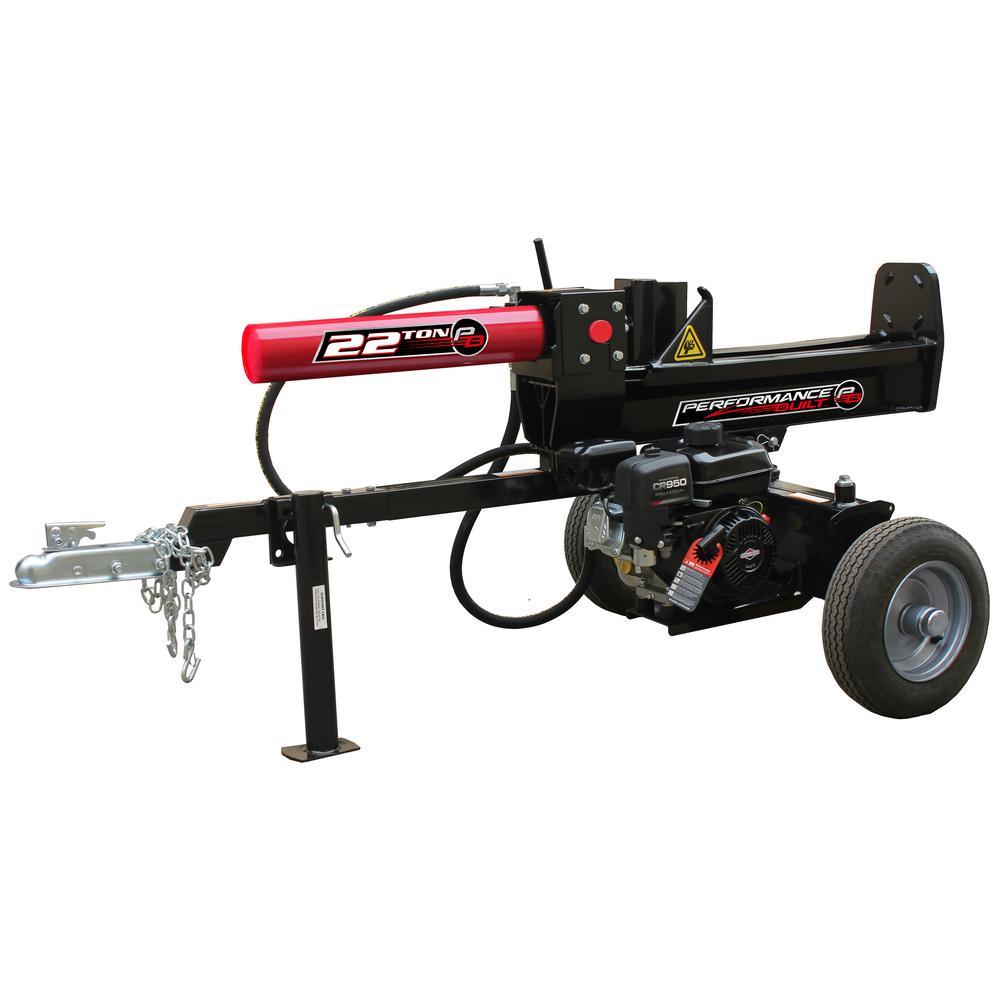 22-Ton 208 cc Gas Half Beam Log Splitter