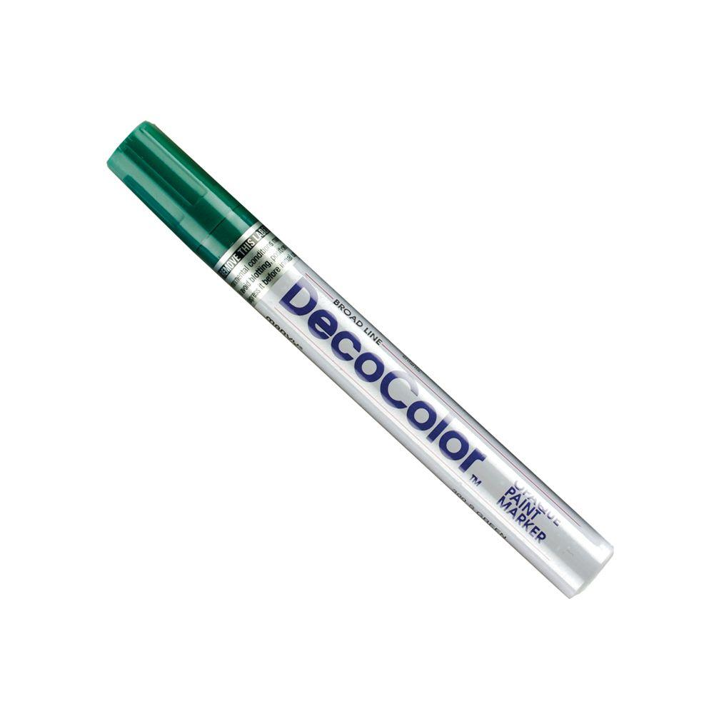 Marvy Uchida DecoColor Green Broad Point Paint Marker