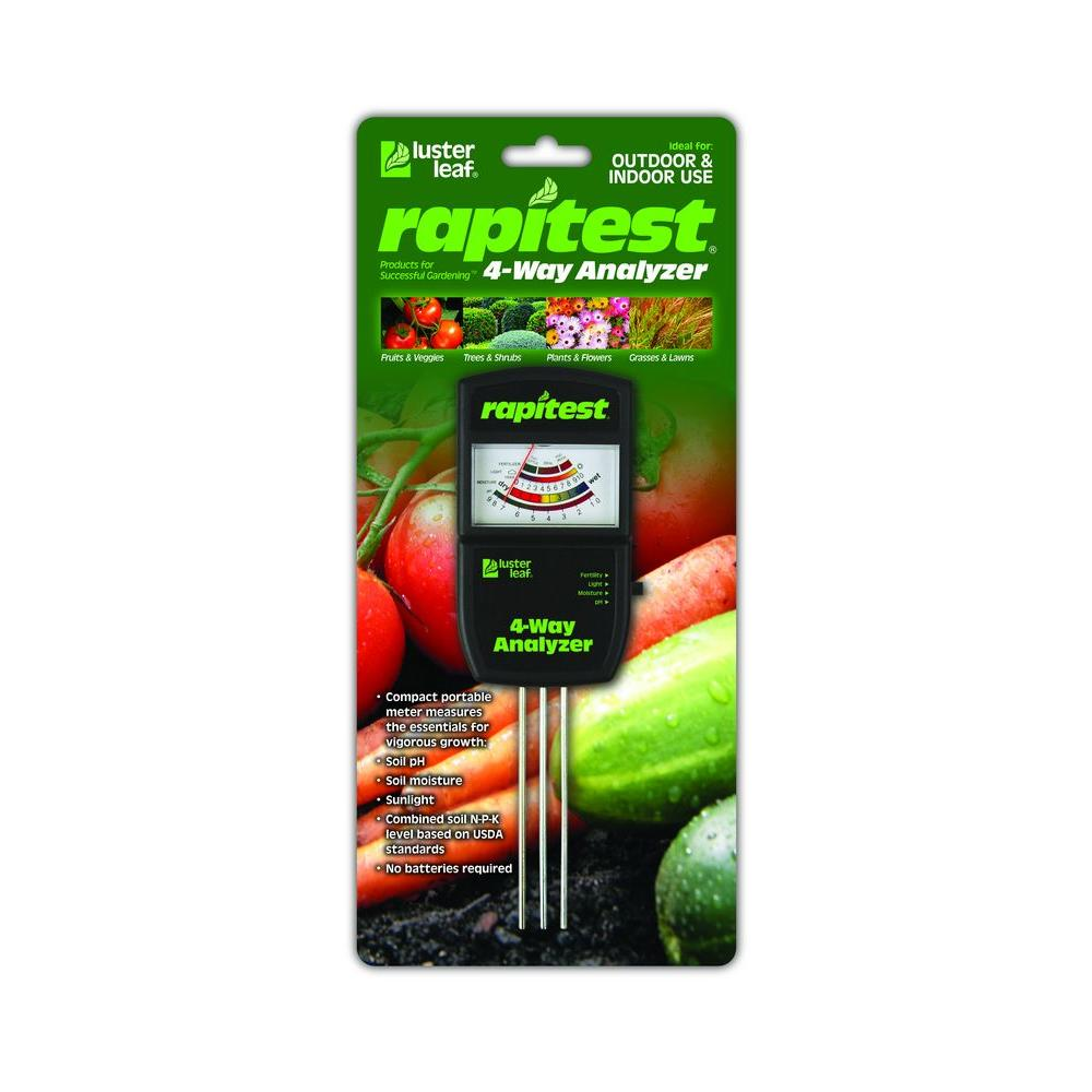 null Rapitest Electronic 4-Way Soil Analyzer-DISCONTINUED