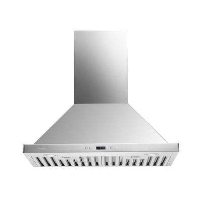 30 in. Convertible Wall-Mounted Range Hood in Stainless Steel