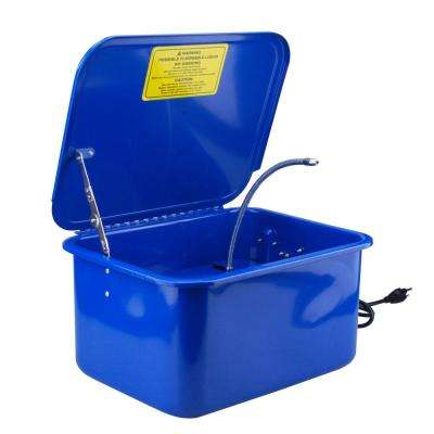 3.5 Gal. Electric Portable Parts Washer with Solvent Pump