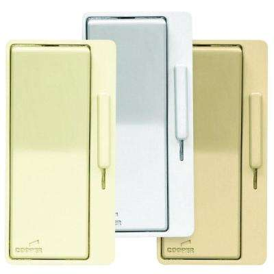 Devine AL Series Dimmer Color Change Faceplate Kit, Almond/White/Ivory