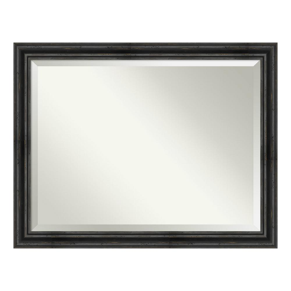 Amanti Art Rustic Pine Black Decorative Wall Mirror was $425.0 now $249.9 (41.0% off)