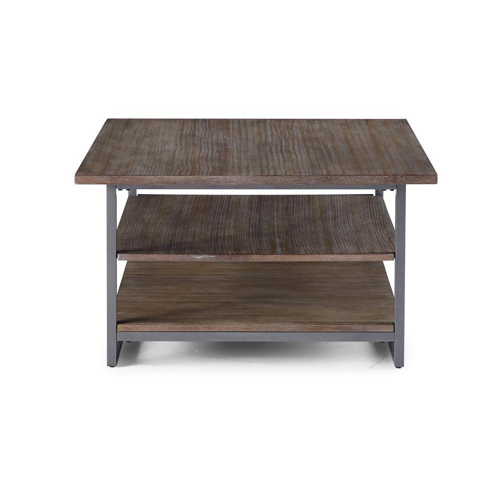 Barnside Metro Driftwood Gray Coffee Table