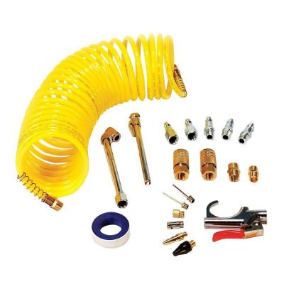 Air Accessory Kit with 25 ft. Recoil Air Hose (20-Piece)