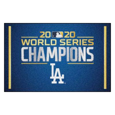 Los Angeles Dodgers 2020 World Series Champions Rug - 19in. x 30in.