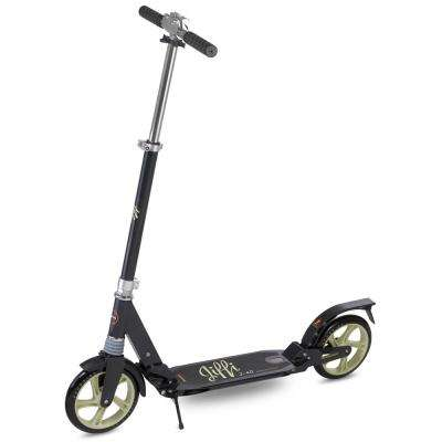 Jiffi J-40 Premium Folding Adult Kick Scooter in Black