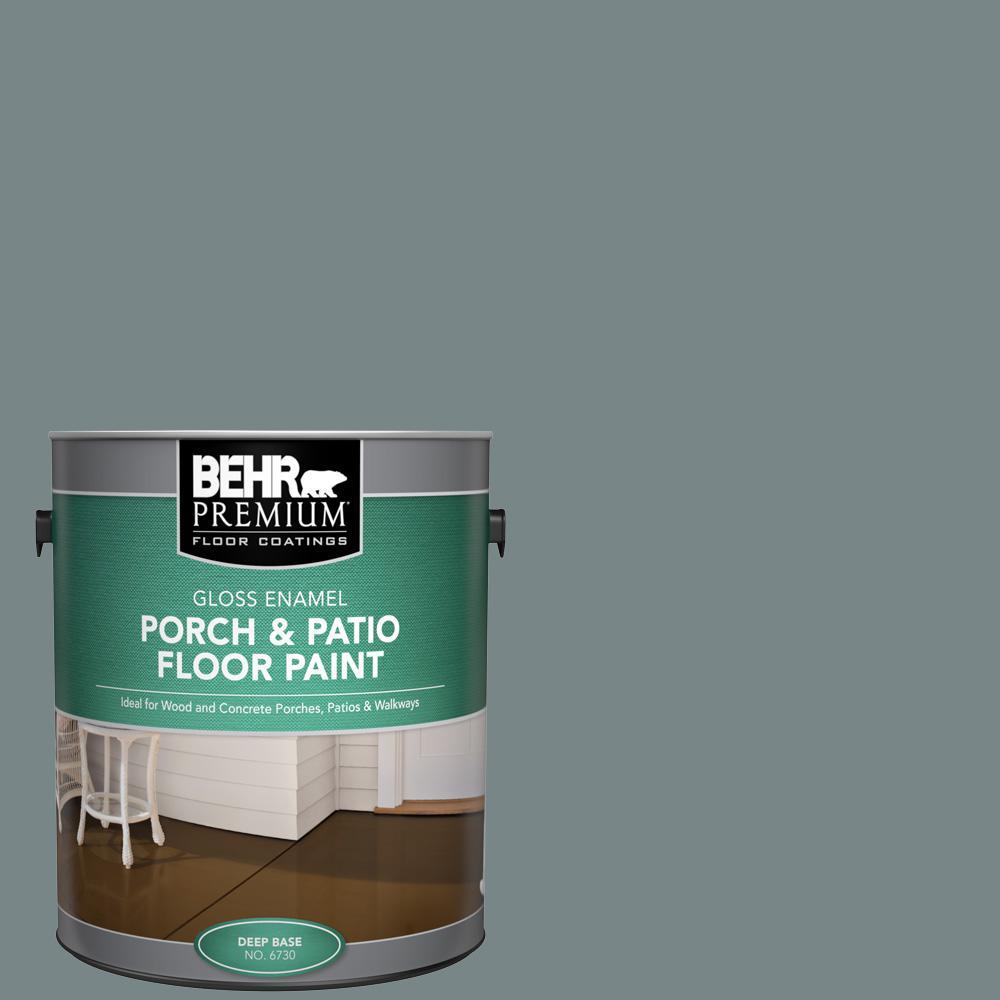 BEHR Premium 1 gal. #730F-5 Nature Retreat Gloss Enamel Interior/Exterior Porch and Patio Floor Paint