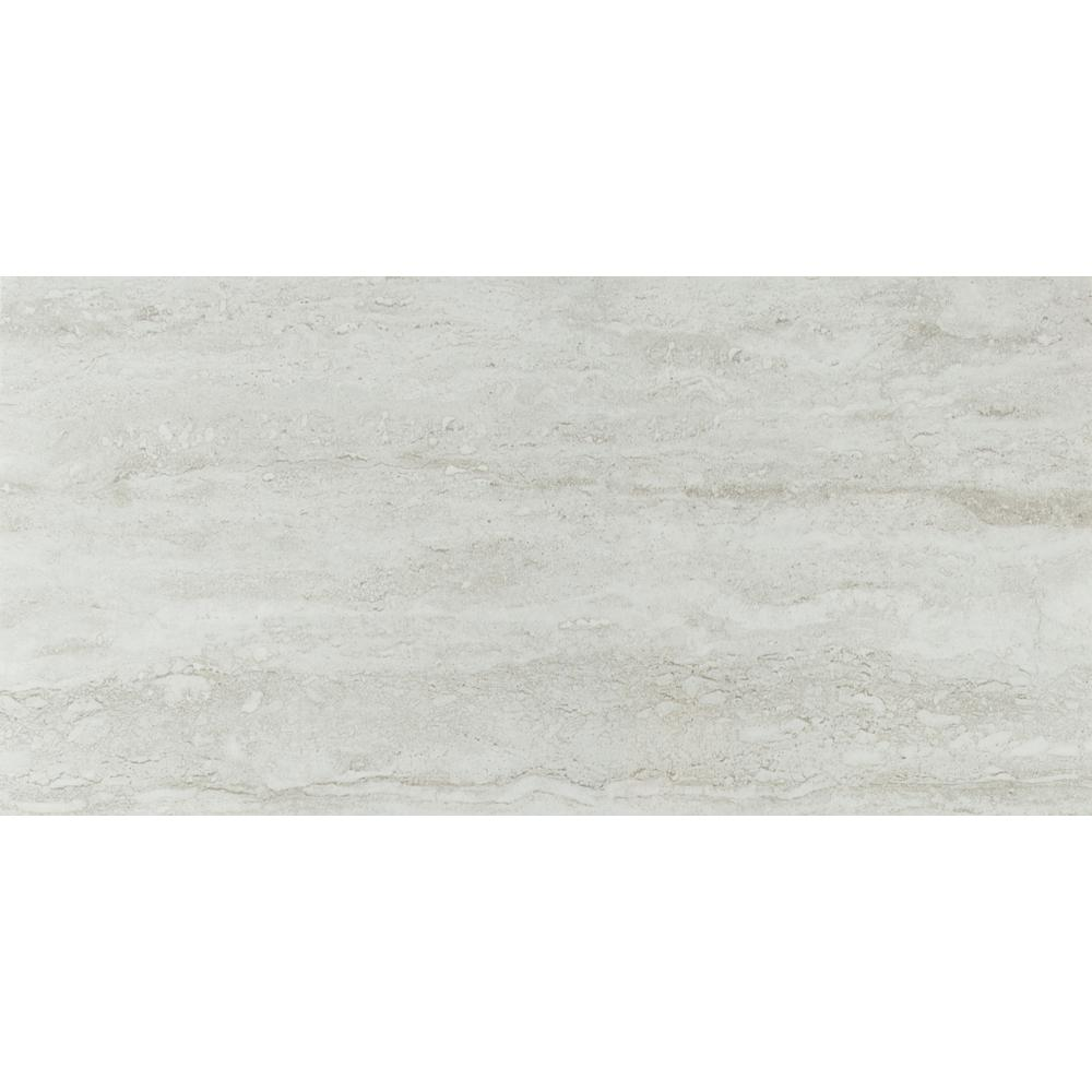 MSI Nyon Gray 12 in. x 24 in. Polished Porcelain Floor and Wall Tile (16 sq. ft. / case)