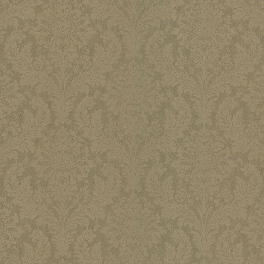 Brewster 56 sq. ft. Damask Wallpaper