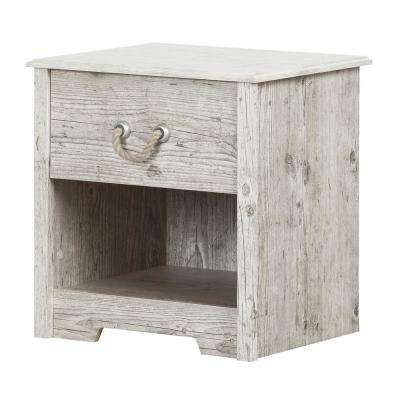 Aviron 1-Drawer Seaside Pine Nightstand