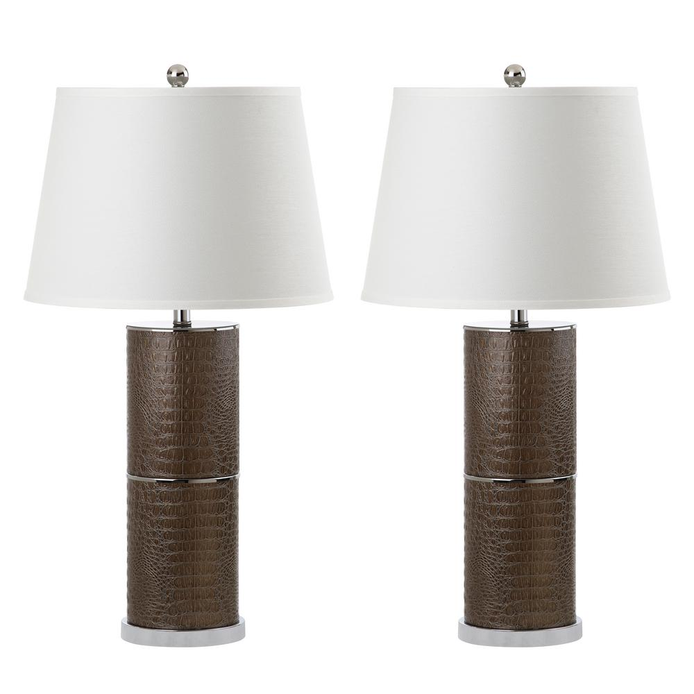 Pearson 33 in. Brown Table Lamp (Set of 2)