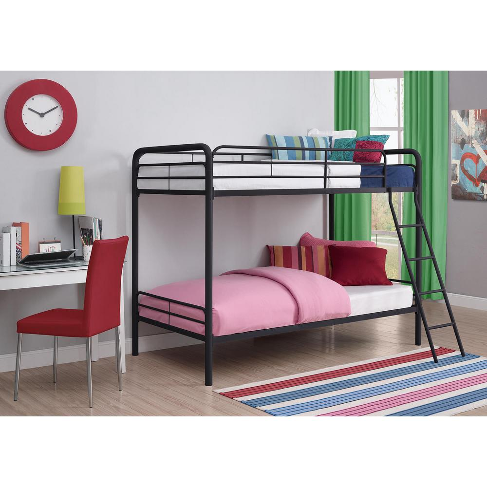 DHP Twin Over Twin Metal Bunk Bed-3135196