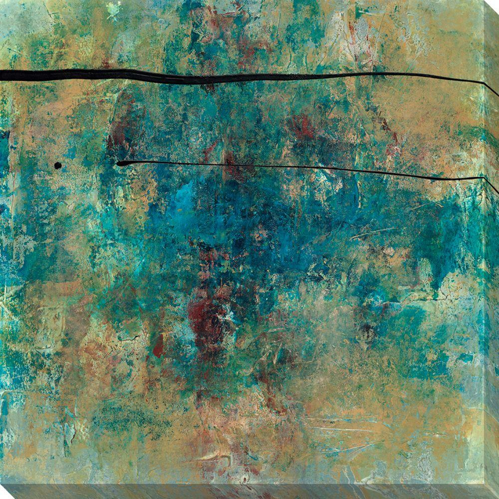 NEP Art 40 in. x 40 in. By Chance III Oversized Canvas Gallery Wrap