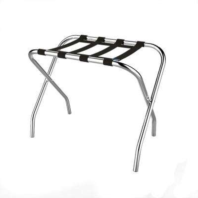 14.9 in. x 26 in. Chrome Luggage Garment Rack