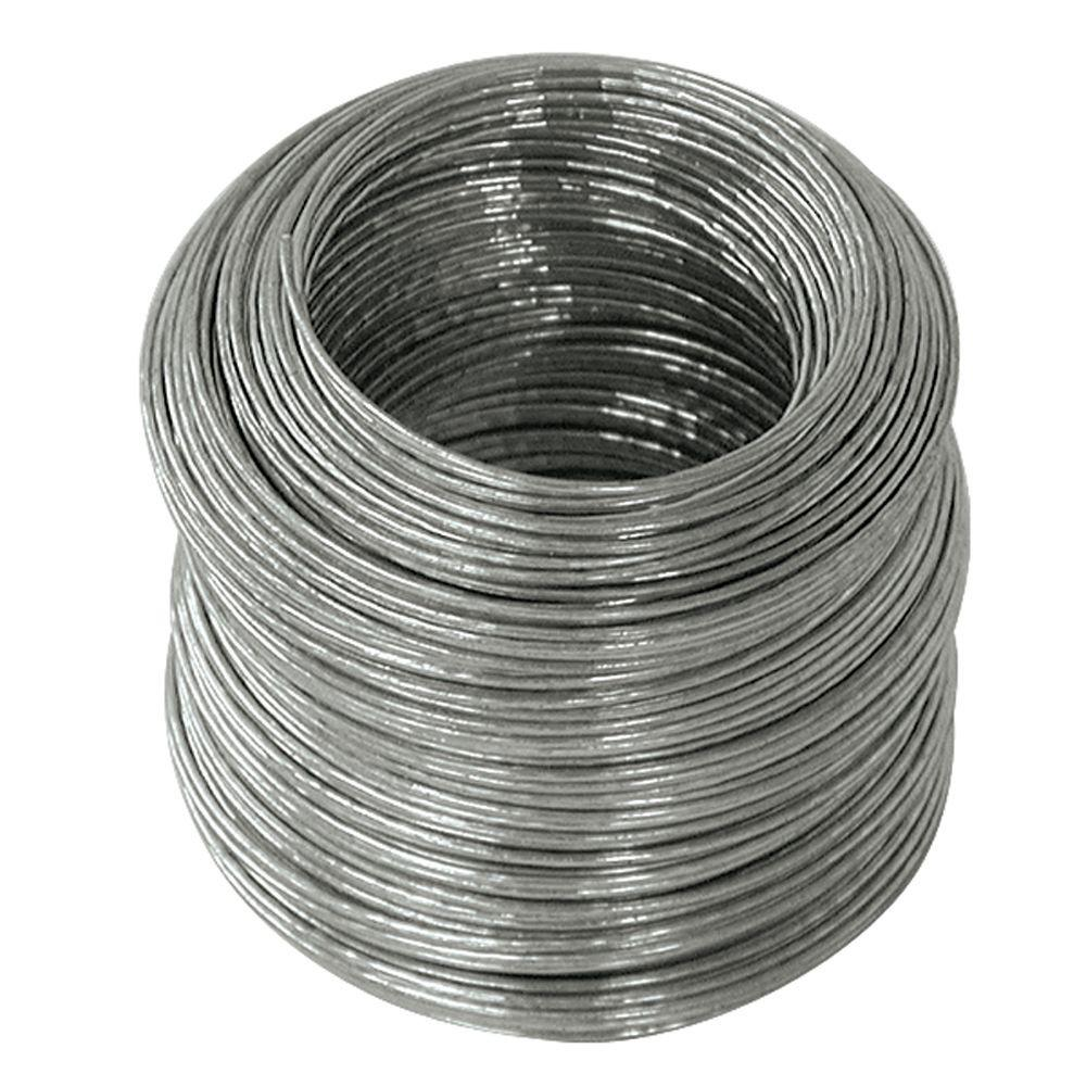 20 Guage Wire | Ook 175 Ft 30 Lb 20 Gauge Galvanized Steel Wire 50134 The Home Depot