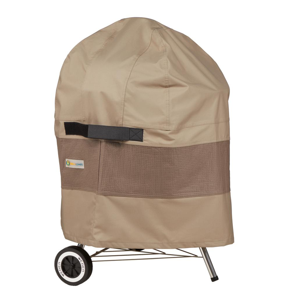 EXPERT GRILL 30in x 25 in KETTLE GRILL COVER BLACK  NEW