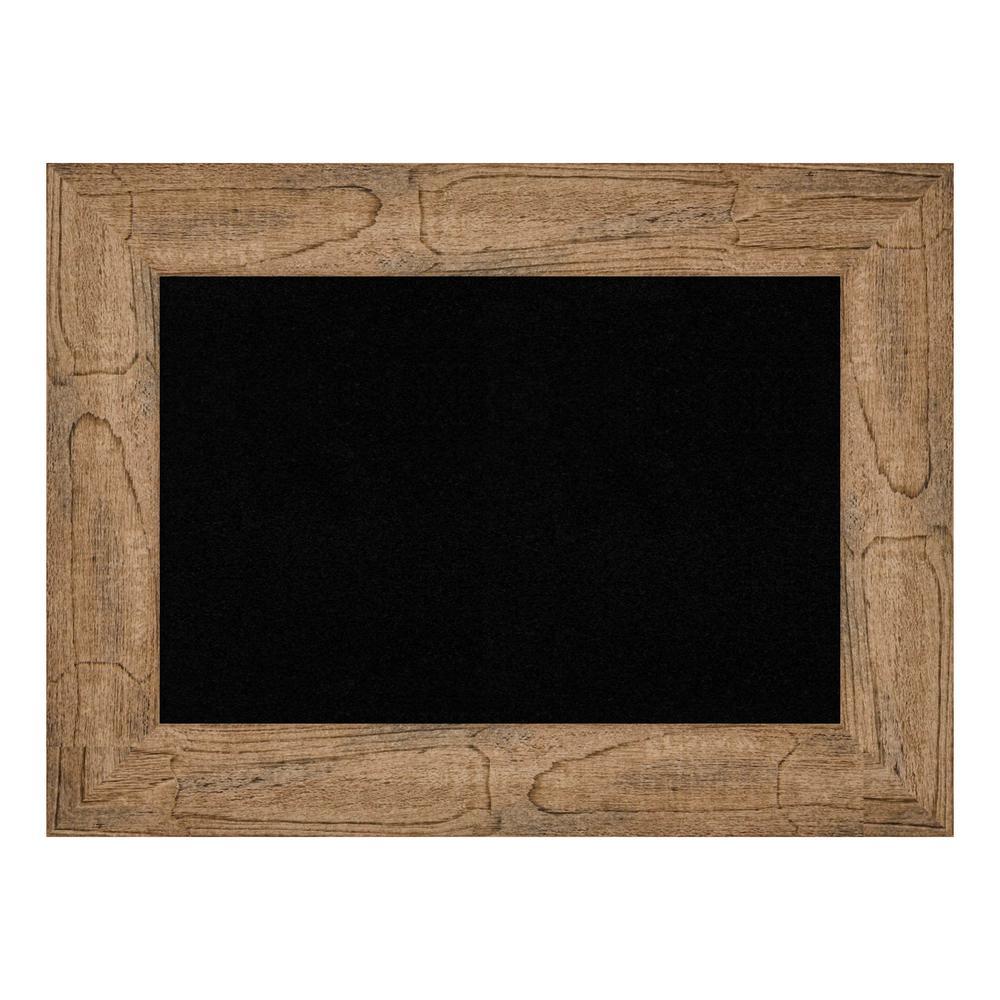 Owl Brown Framed Black Cork Memo Board