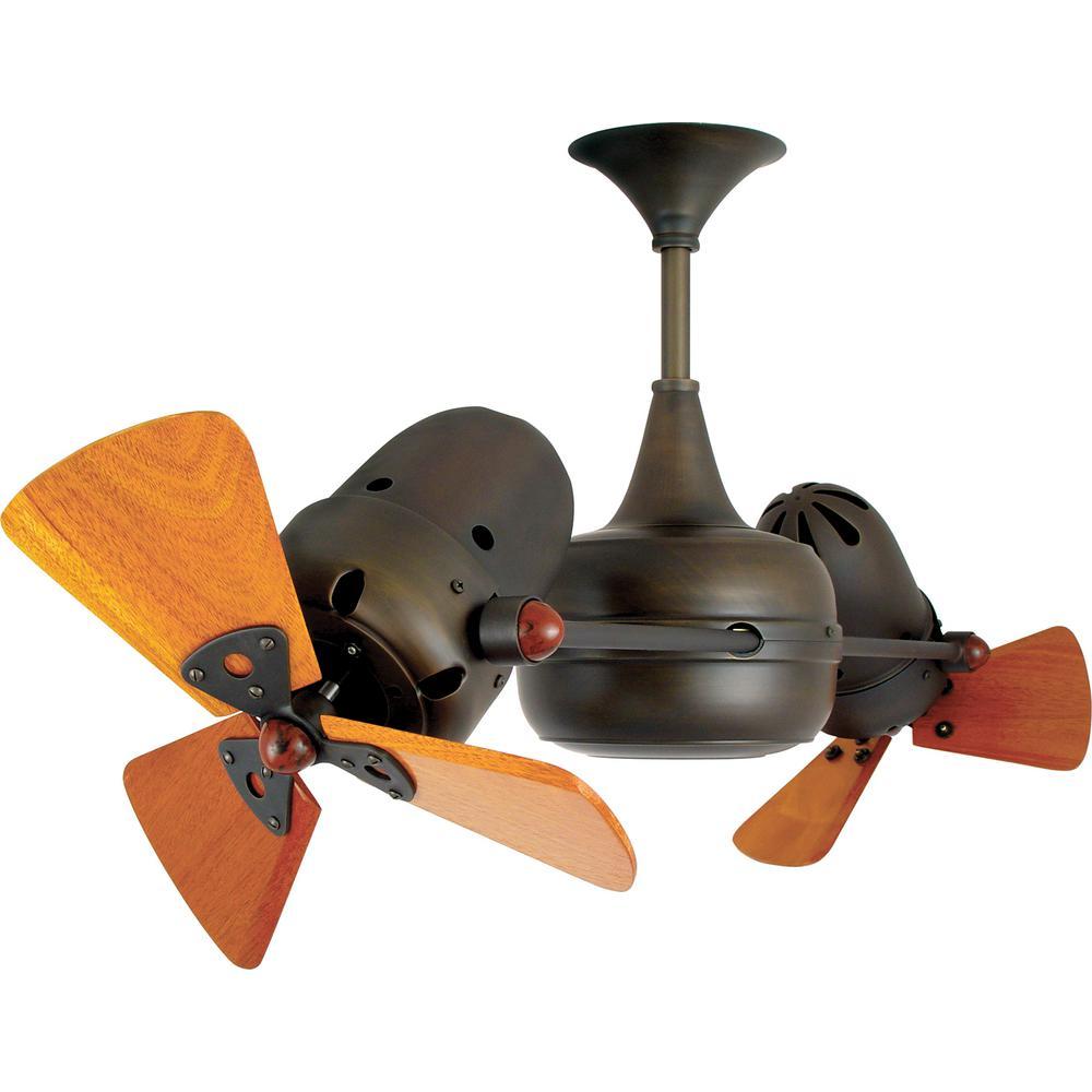 Radionic Hi Tech Westergate 36 in. 6-Blade Bronze Ceiling Fan
