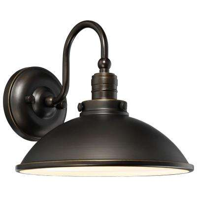Baytree Lane 1-Light Oil Rubbed Bronze Outdoor Integrated LED Wall Mount
