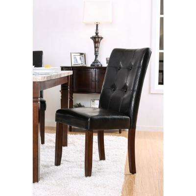 Marstone Brown Cherry Contemporary Style Chair