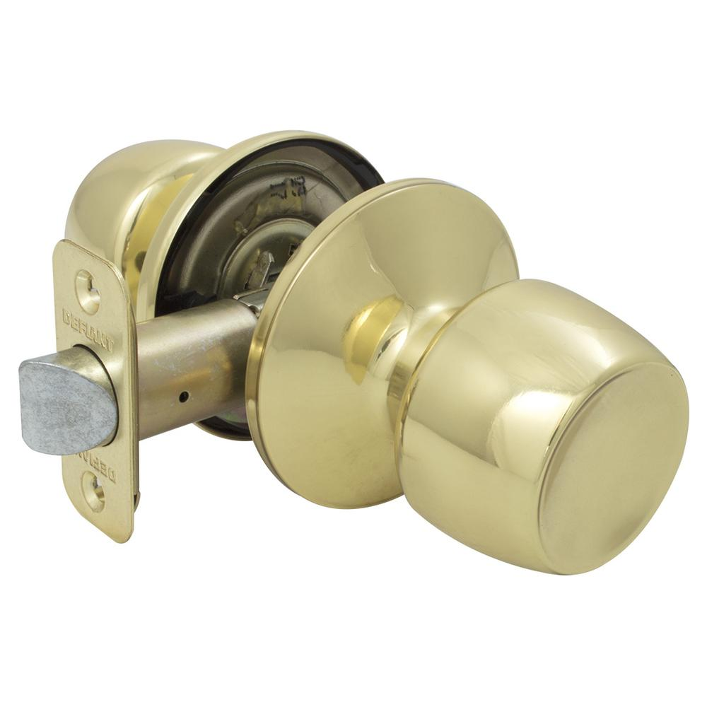 Brandywine Polished Brass Hall/Closet Passage Door Knob