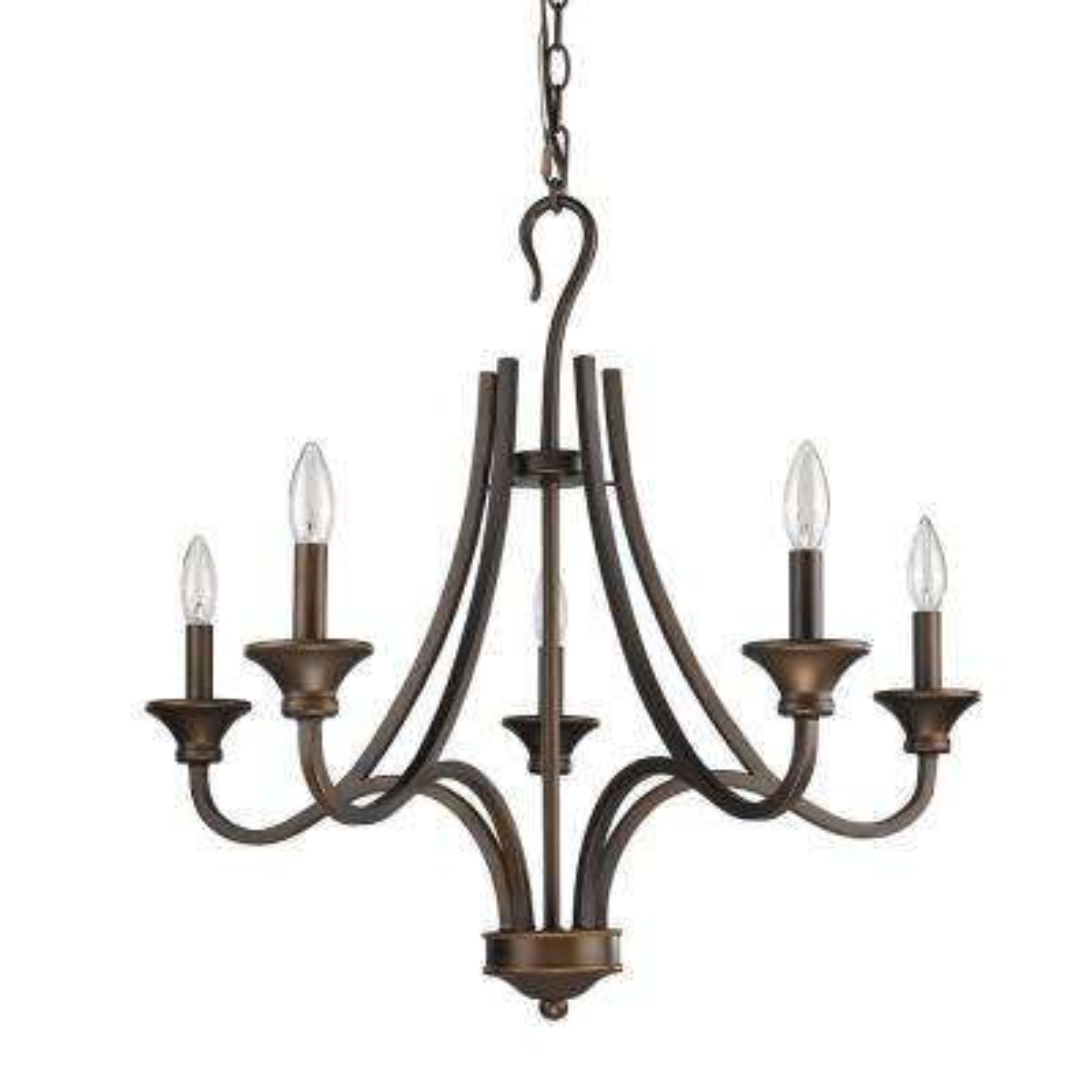 Michelle Indoor 5-Light Oil Rubbed Bronze Chandelier
