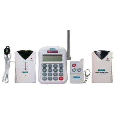 Wireless Home Temperature and Power Failure Alert with Telephone Dialer